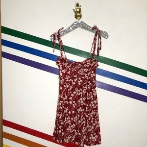 NEW Free People tie shoulder floral dress